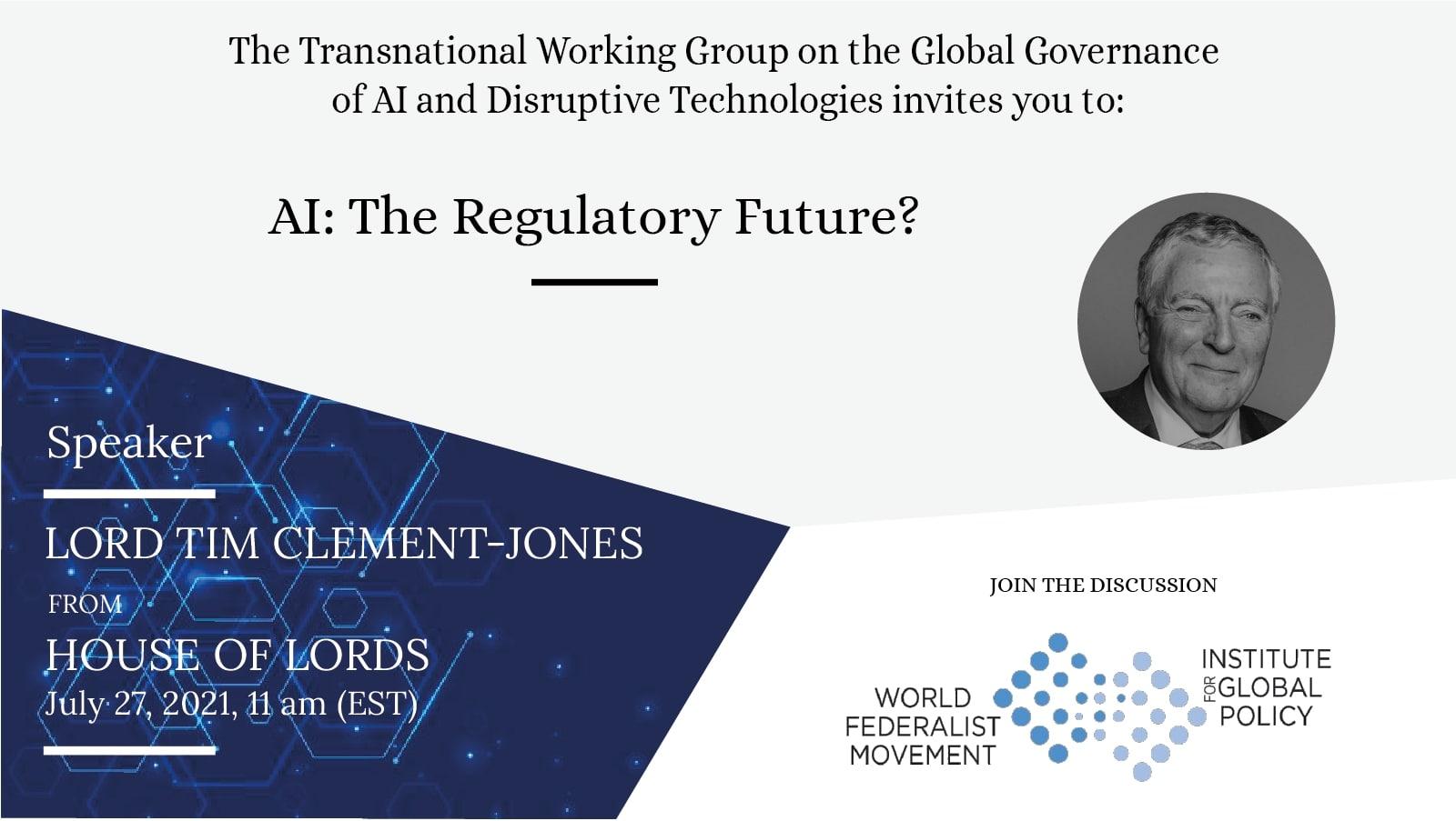 WFM IGP event AI The Regulatory Future